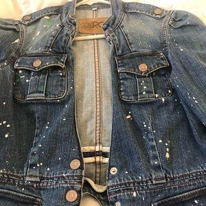 La rok demin jacket